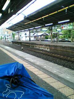 金沢八景で電車待ち