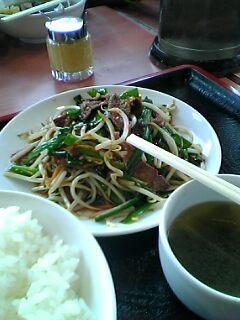 南京亭で昼ご飯
