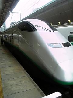 東北新幹線で輪行
