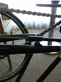 自転車トラブる